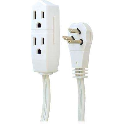 8 ft. 3-Outlet Grounded Office Extension Cord