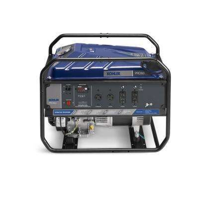 9,000-Watt Gasoline Powered Recoil Start Portable Generator with Command  PRO Commercial Engine