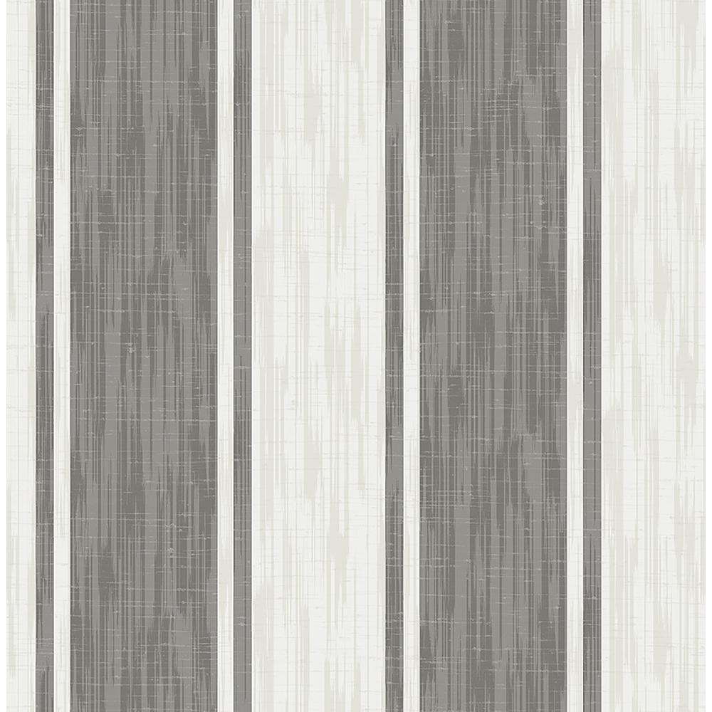 A-Street Ryoan Grey Stripes Wallpaper 2702-22750