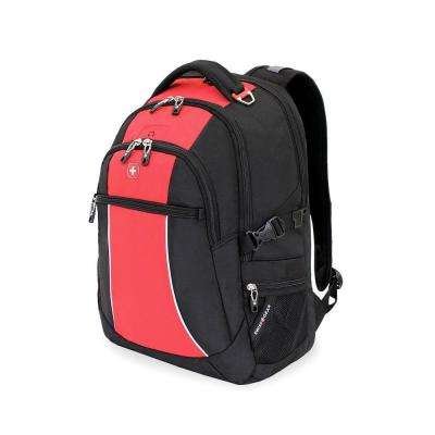 18.5 in. Red Course and Black Backpack