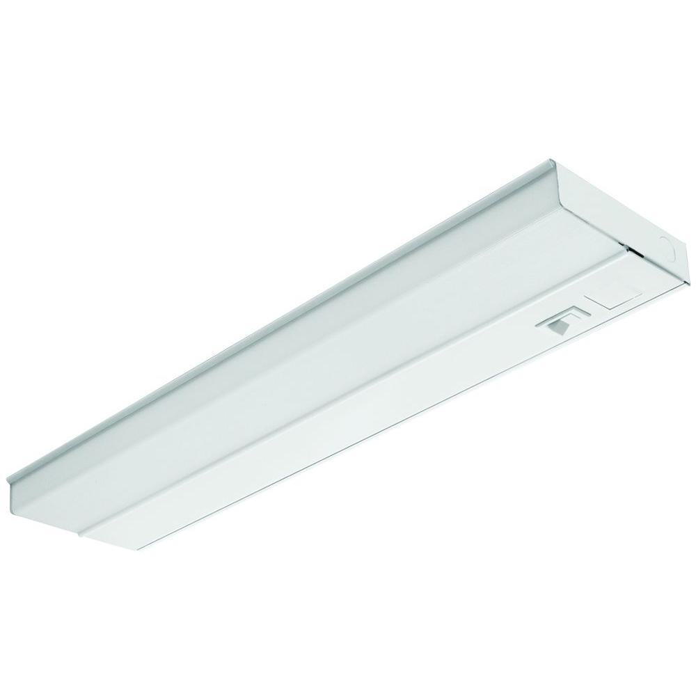 Lithonia Lighting 24 in. T5 Fluorescent White Under Cabinet-UC 24E ...