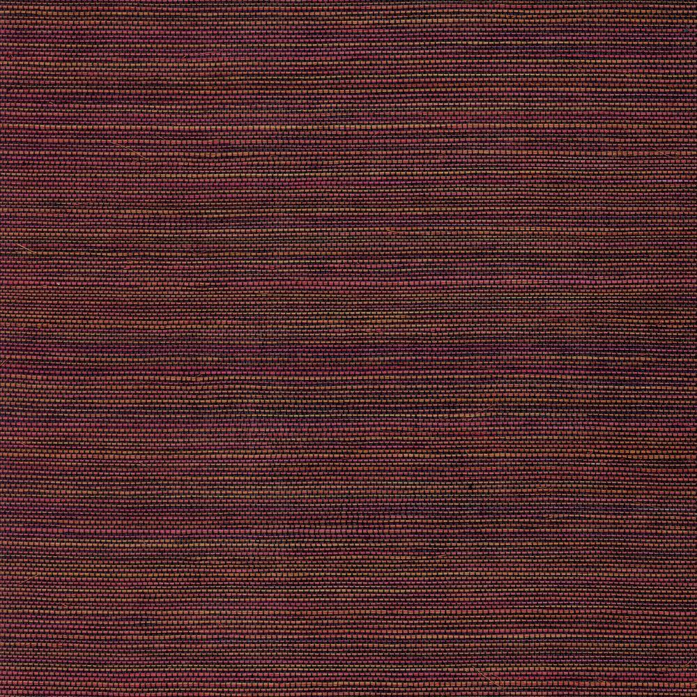 The Wallpaper Company 72 sq. ft. Red Sisal Wallpaper