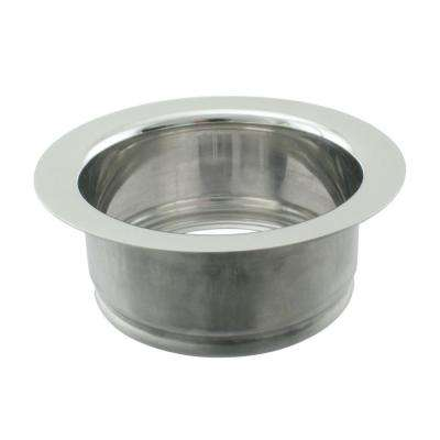 Disposal Ring in Polished Chrome