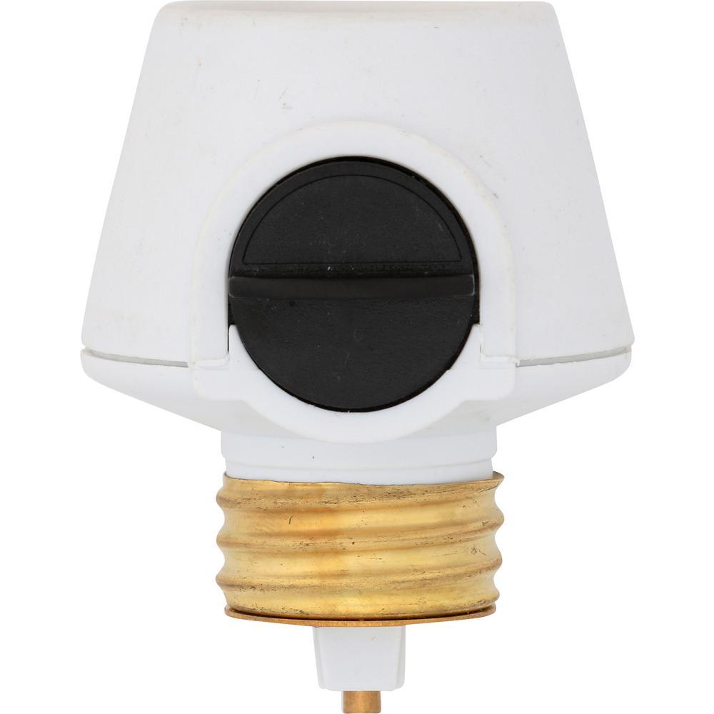 100-Watt Full Range Lamp Socket Dimmer