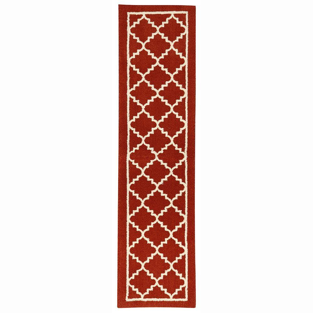Home Decorators Collection Winslow Picante 2 ft. x 8 ft. Indoor Runner Rug