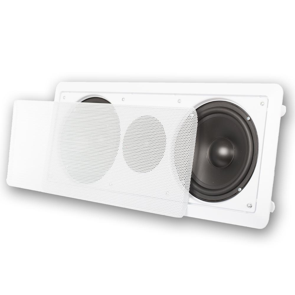 Valcom Slimline One Way Wall Speaker Black Vc V 1042bk
