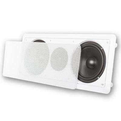 In-Wall 6.5 in. Center Channel Speaker In-Ceiling Home Theater