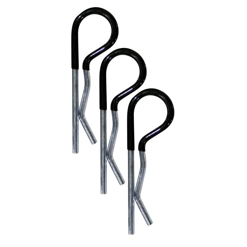 Reese Towpower Comfort Grip R-Pin Cotter Clips (3-Pack)