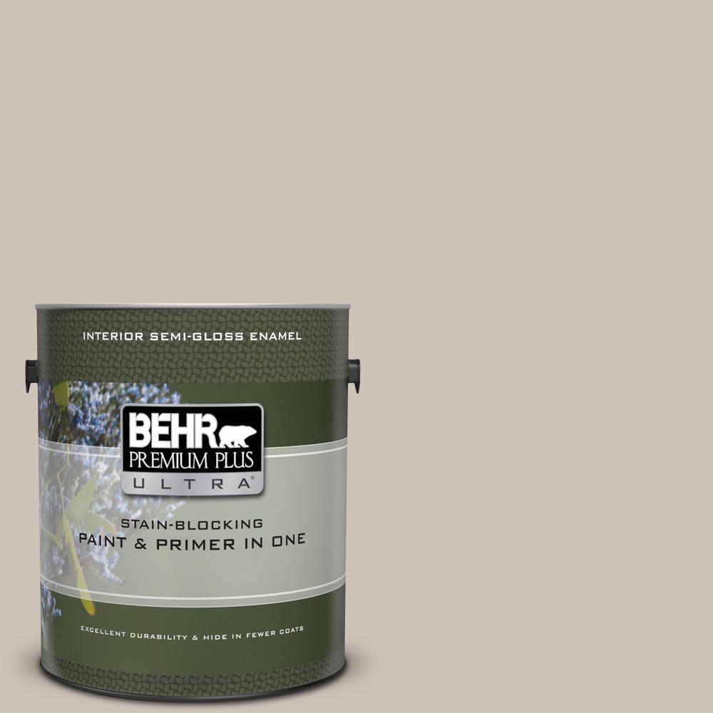 Behr Premium Plus Ultra 1 Gal 720c 3 Wheat Bread Semi Gloss