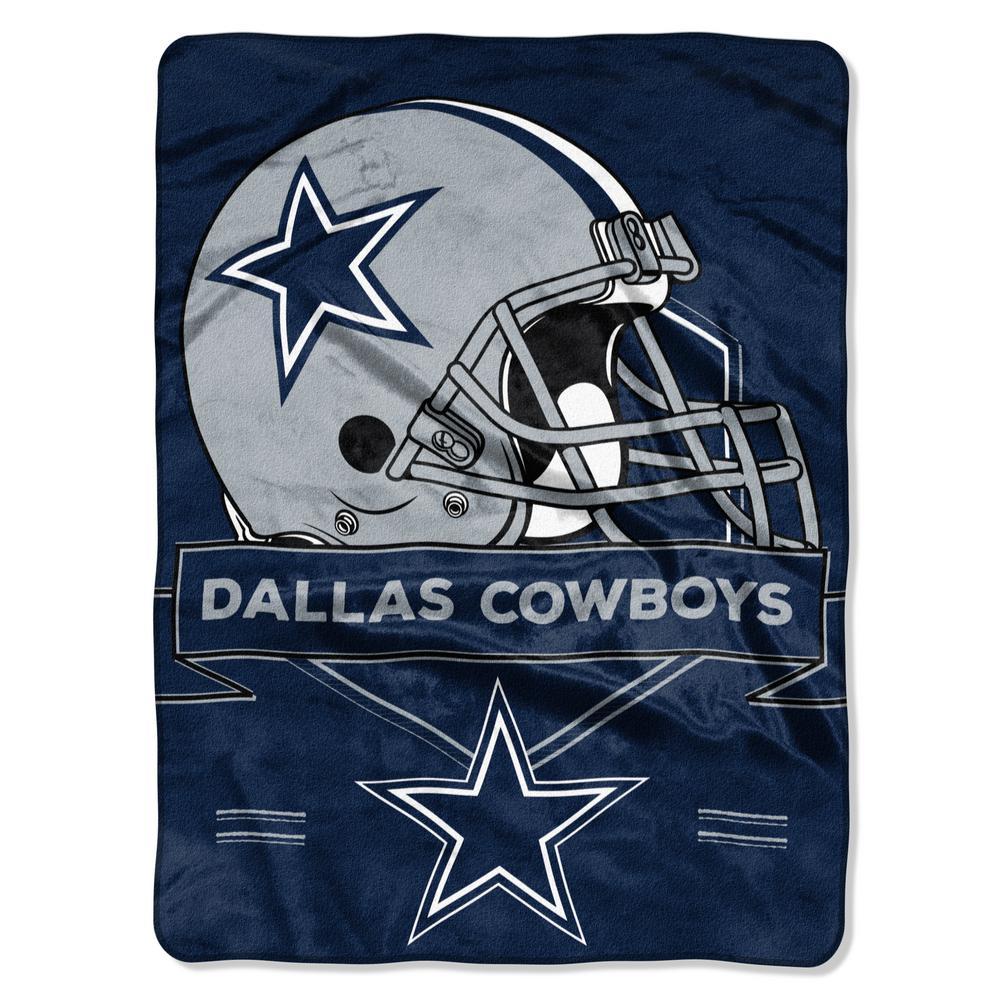 Cowboys Multi-Color Polyester Prestige Raschel