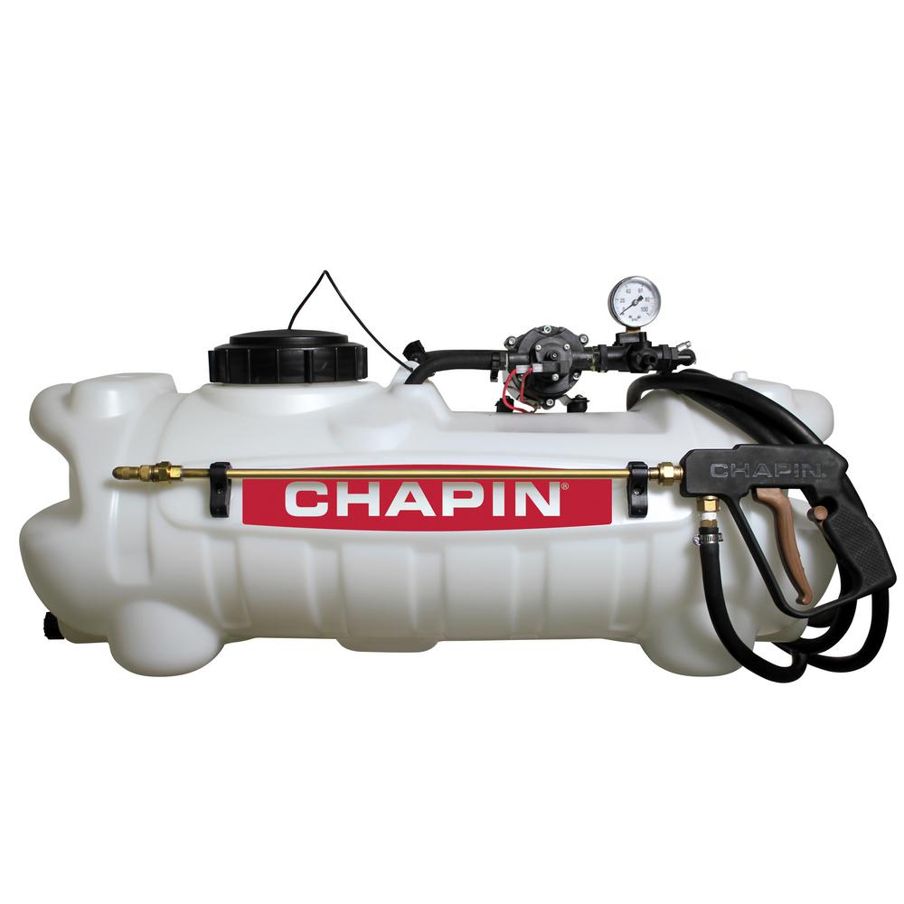 Chapin 15 Gal. 12-Volt EZ Mount Deluxe Dripless EZ Mount Sprayer for ATV's, UTV's and Lawn Tractors