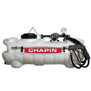 Click here to buy Chapin 15 Gal. 12-Volt EZ Mount Deluxe Dripless EZ Mount Sprayer for ATV