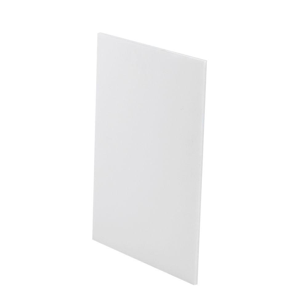 20 in. x 30 in. x 3/16 in. White Foam Board