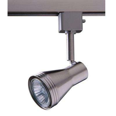 Series 6 Line-Voltage GU-10 Satin Nickel Track Lighting Fixture