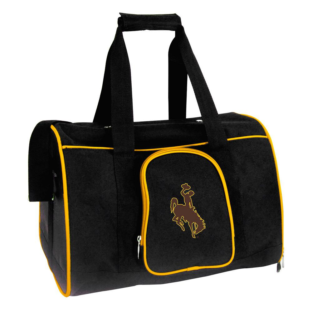 Ncaa Wyoming Cowboys Pet Carrier Premium 16