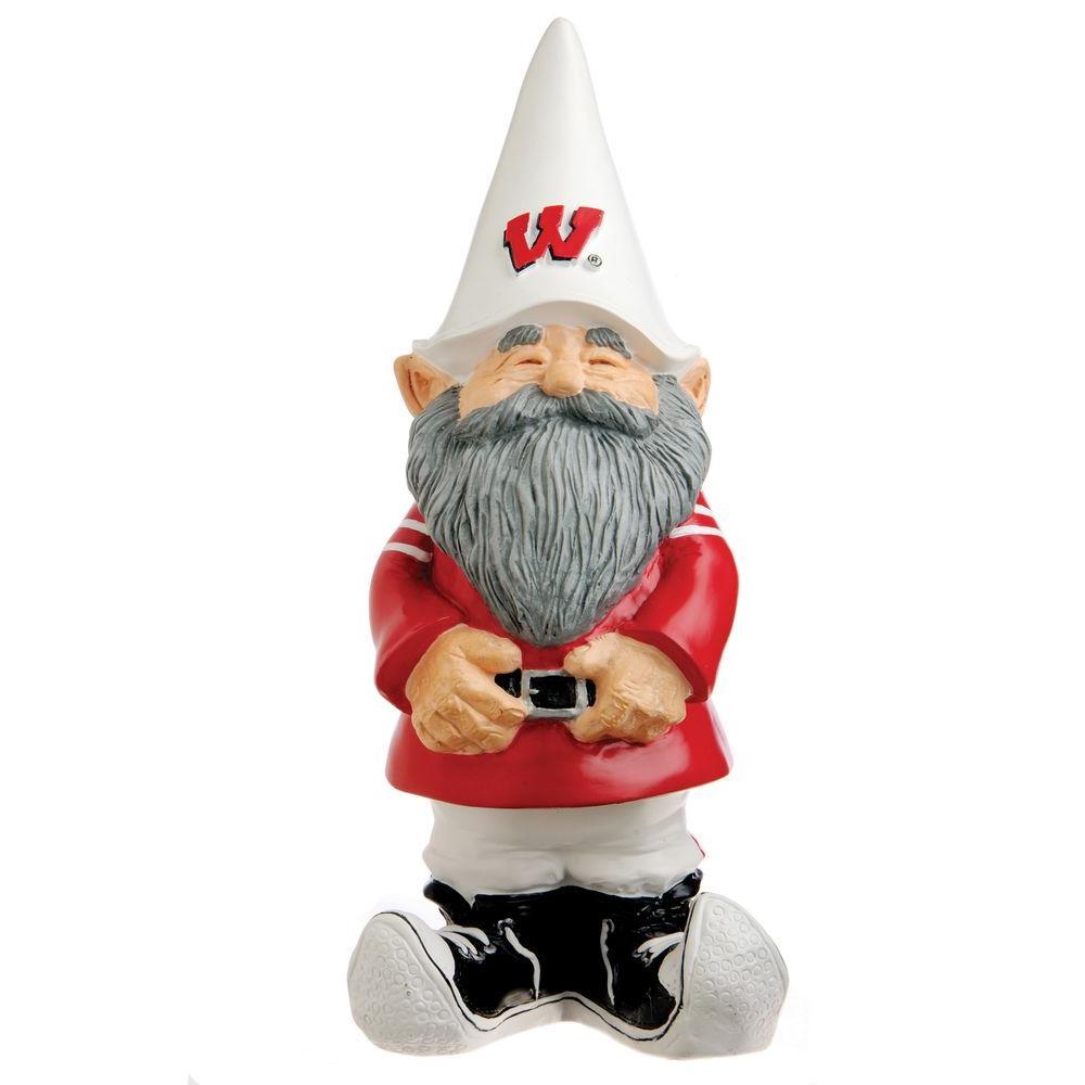 Evergreen Enterprises 11-1/4 in. University of Wisconsin Garden Gnome