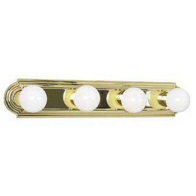 Tieben 4-Light Polished Brass Bath Vanity Light