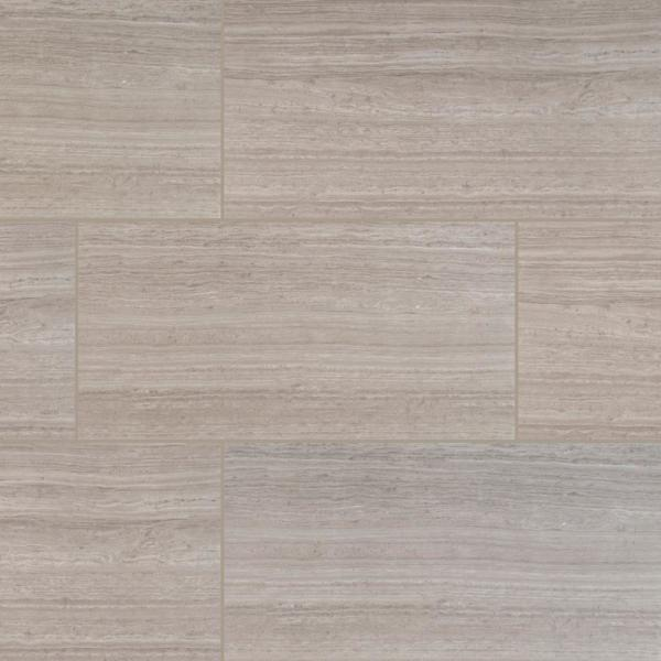 Msi Mare Bianco 12 In X 24 In Polished Porcelain Floor And Wall Tile 16 Sq Ft Case Nhdmarbia1224p The Home Depot