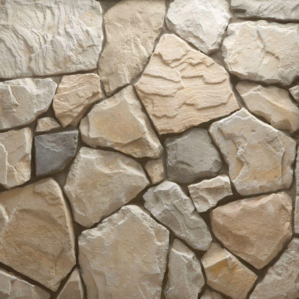 Veneerstone Field Stone Cascade Flats 150 Sq Ft Bulk Pallet Manufactured Stone 97448 The