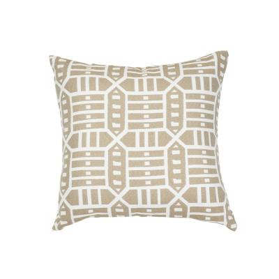 Roland Hemp Square Outdoor Accent Throw Pillow
