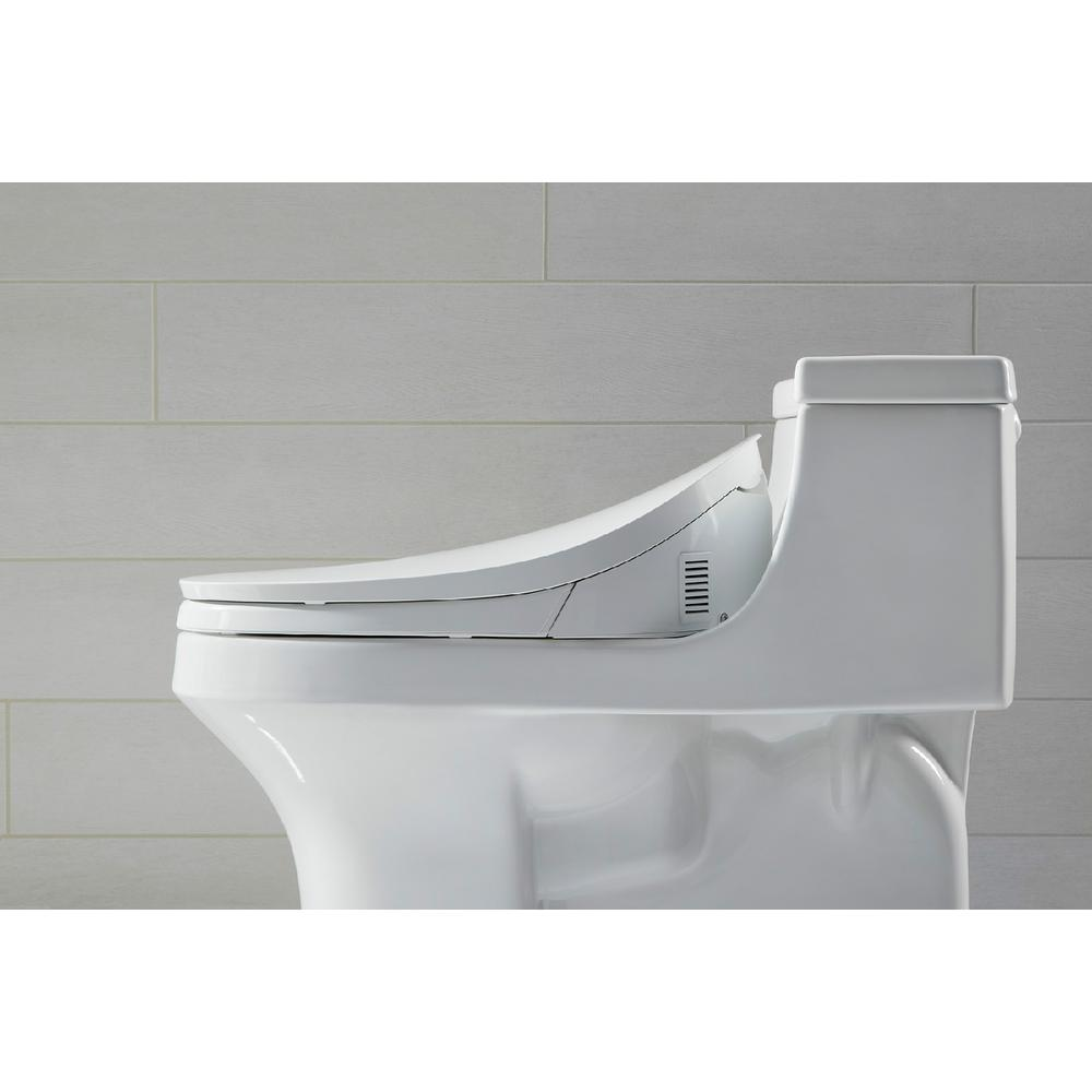 Terrific Kohler C3 230 Electric Bidet Seat For Elongated Toilets In White With Touchscreen Remote Control Machost Co Dining Chair Design Ideas Machostcouk