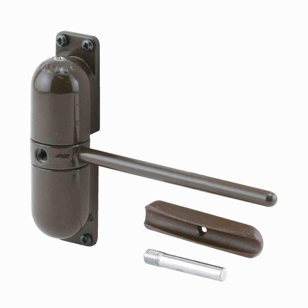 Prime-Line Brown Safety Spring Door Closer  sc 1 st  The Home Depot : door closer hinge - pezcame.com