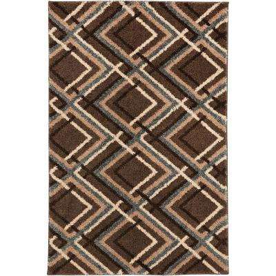 Browning Avenue Grey Black 3 ft. 4 in. x 5 ft. 6 in. Accent Rug