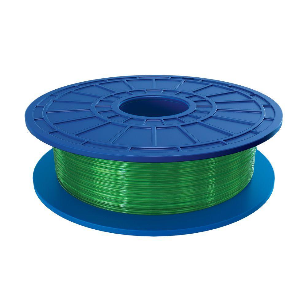 1.1 lbs. Green PLA Filament for 3D Idea Builder Printer