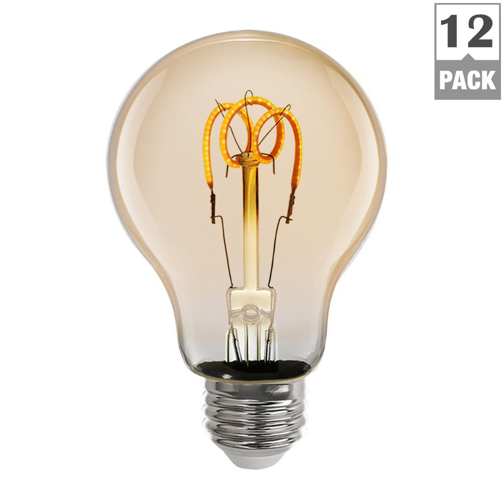 4.5-Watt Soft White (2000K) AT19 Dimmable LED Vintage Style Light Bulb