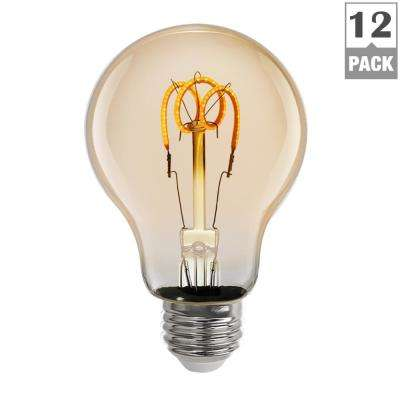 4.5-Watt Soft White (2000K) AT19 Dimmable LED Vintage Style Light Bulb (Case of 12)