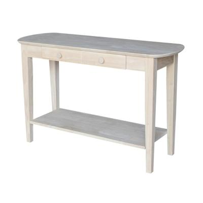 Philips Unfinished Storage Console Table