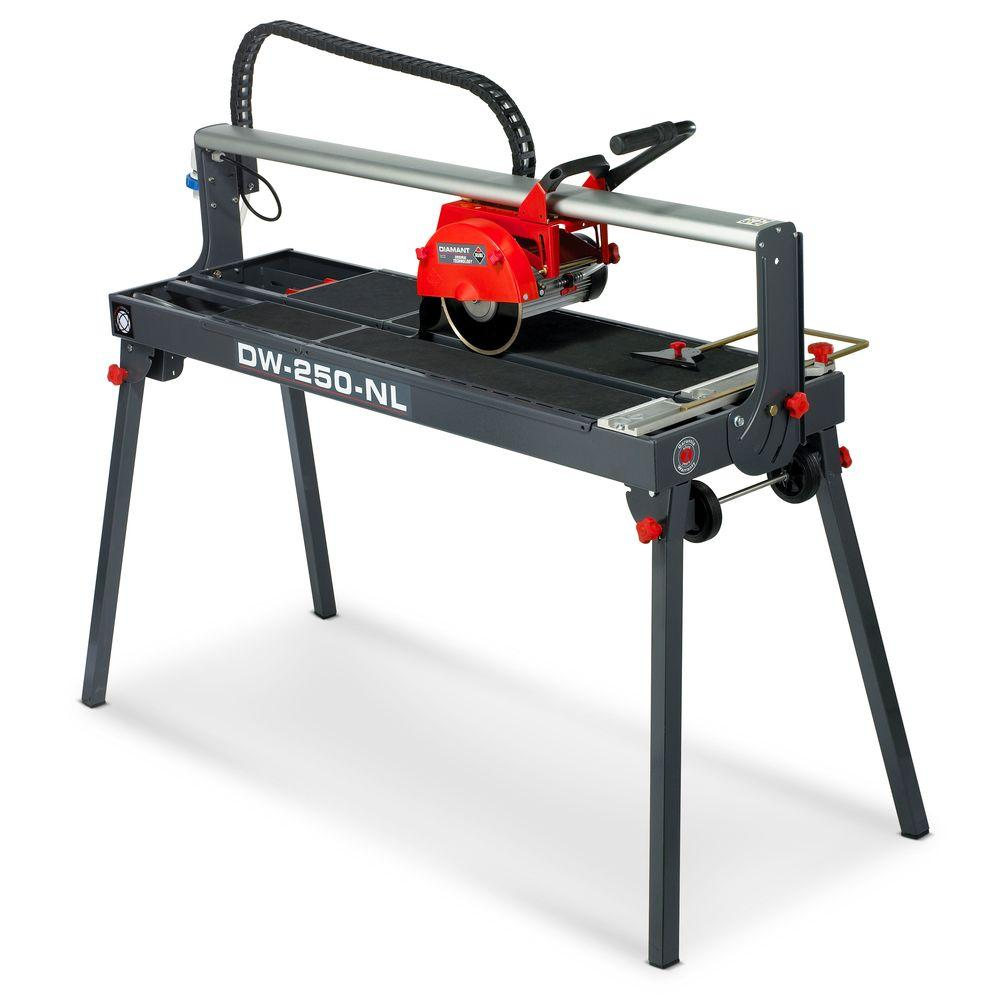 Rubi 1.5 HP DW-250-NL Wet Tile Saw-DISCONTINUED