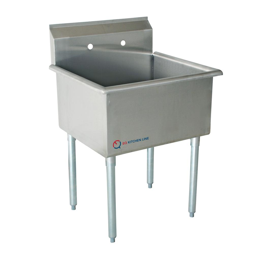 Freestanding Stainless Steel 19 in. x 24.5 in. x 43.75 in.