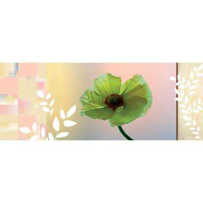25.5 in. x 67 in. Blossom Panel Wall Decal