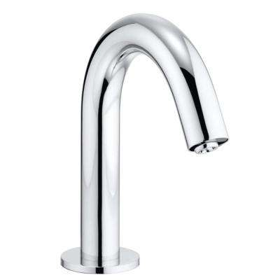 Helix EcoPower On-Demand 0.5 GPM Touchless Single Hole Bathroom Faucet with Thermostatic Mixing Valve in Polished Chrome