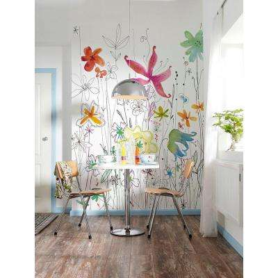 72 in. H x 98 in. W Joli Wall Mural