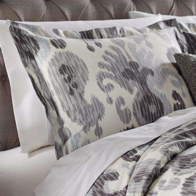 Still Water Grey Standard Sham