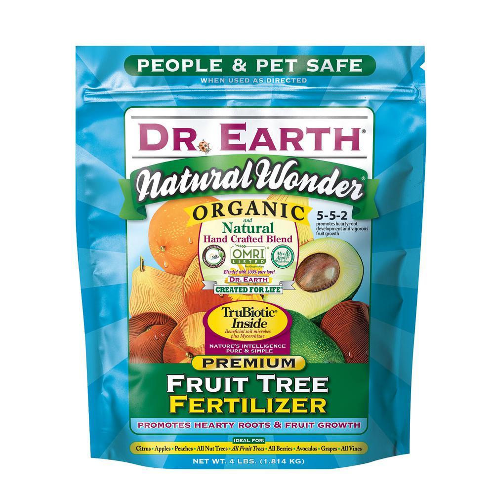 4 lb. Natural Wonder Fruit Tree Dry Fertilizer
