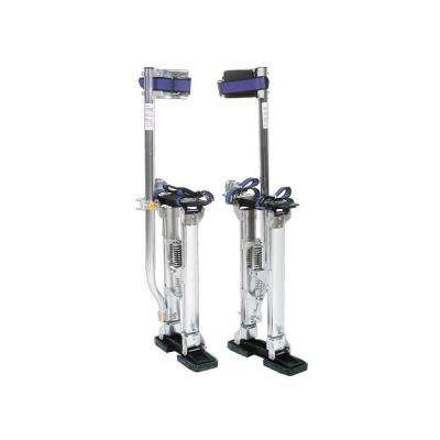 18 in. to 30 in. Adjustable Drywall Stilts