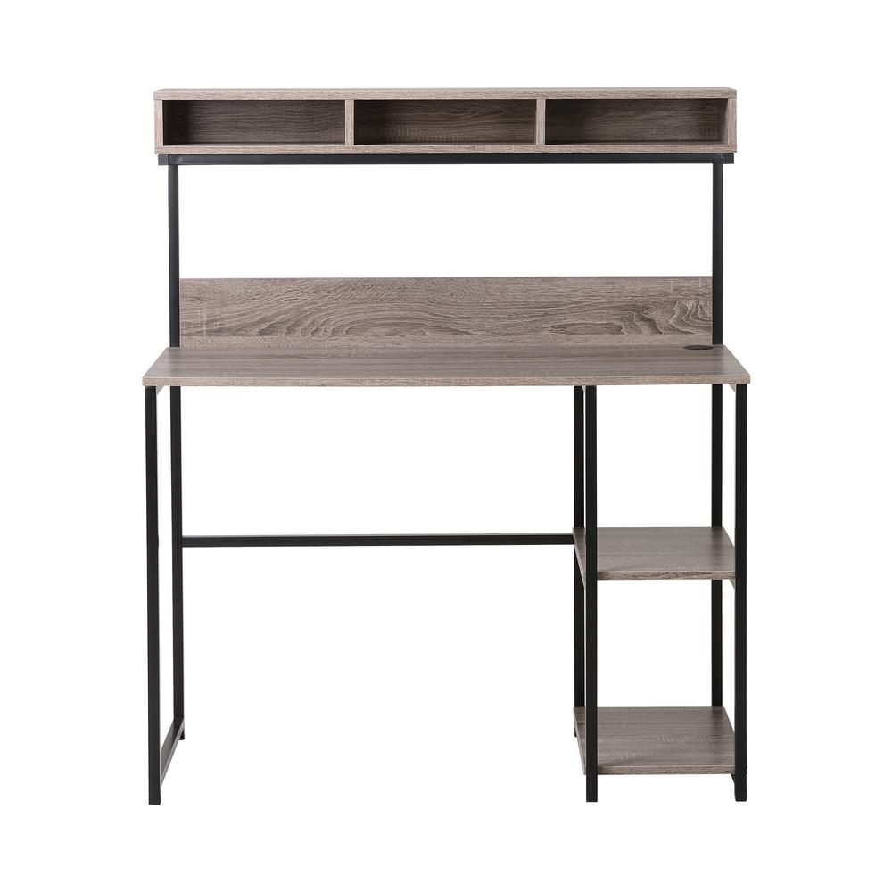 Homestar North America Llc Natural Reclaimed Desk With Hutch