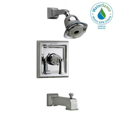 Town Square 1-Handle Tub and Shower Faucet Trim Kit 2.0 gpm in Polished Chrome (Valve Sold Separately)