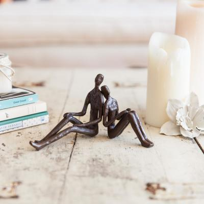 Romantic Couple Bronze Sculpture