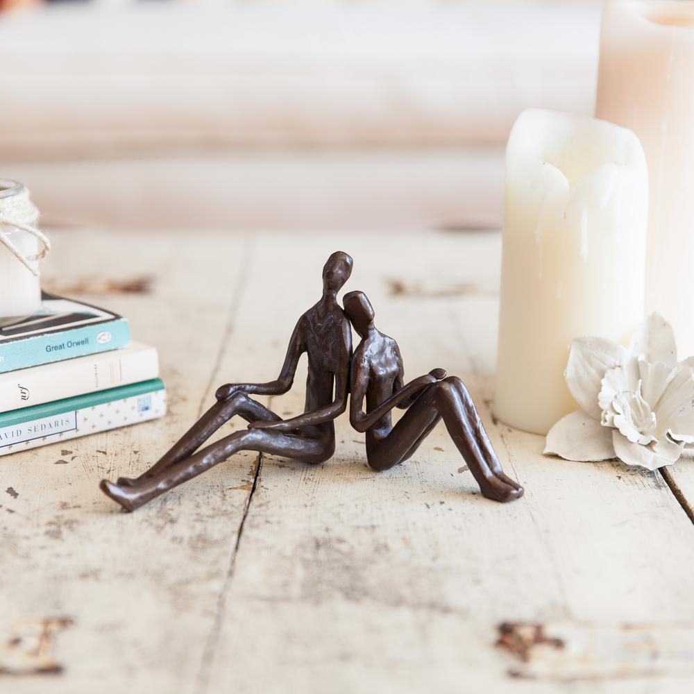 Romantic Couple Bronze Sculpture