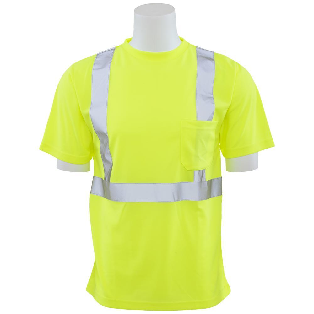 9006SX 3XL 62185 HVL Poly Birdseye Knit Mesh X-Back Unisex T-Shirt