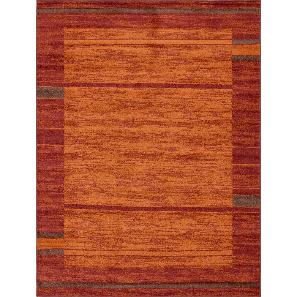 Autumn Foilage Terracotta 9' 0 x 12' 0 Area Rug