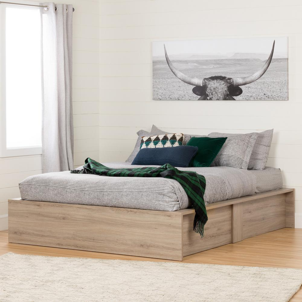 New Bedroom Bed Volleyball Bedroom Decorating Ideas Rustic Bedroom Decor Diy Bedroom Blinds Ideas: South Shore Fusion Rustic Oak Queen Storage-10771