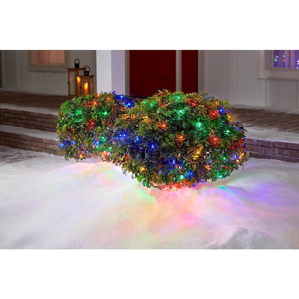 150-Light LED Smooth Mini Net Light Super Bright Constant-on Multi