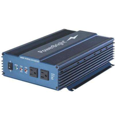 12-Volt DC to AC 1000 Pure Sine Inverter