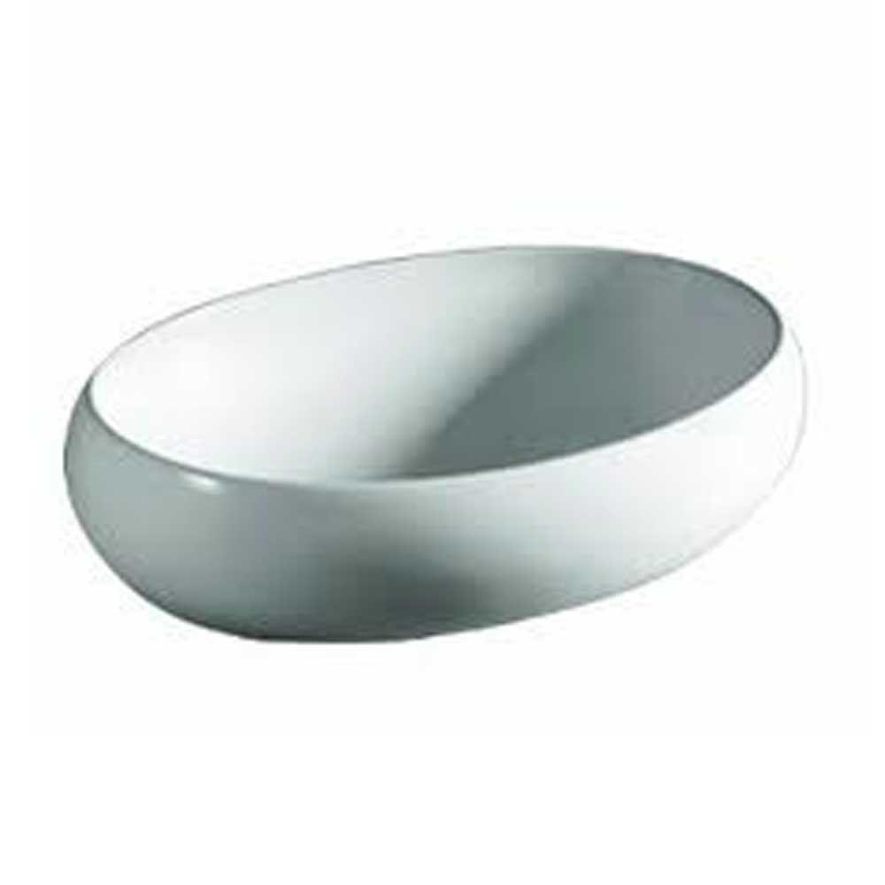 Whitehaus Collection Isabella Vessel Sink In White