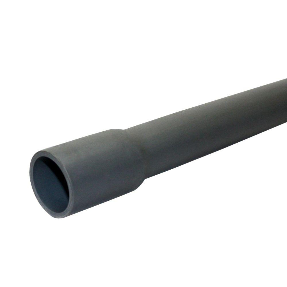3 4 In X 10 Ft Pvc Schedule 40 Conduit 67454 The Home Depot Section Three Electrical Installation